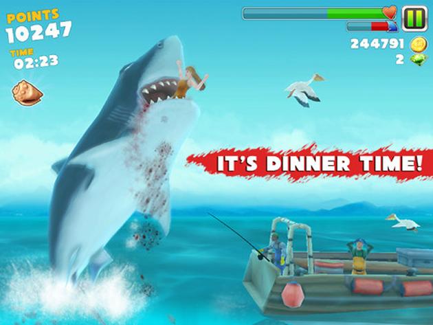 Como tener gemas gratis en el juego Hungry Shark Evolution