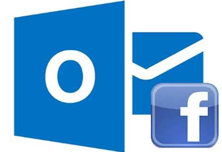 chat facebook en outlook