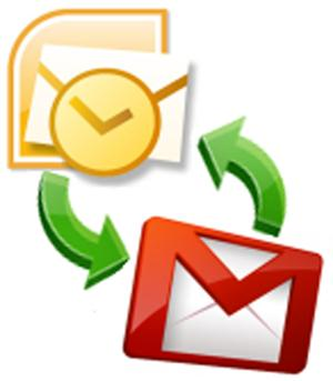 outlook integrado con el correo gmail