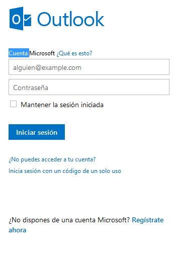 Pasos para registrar correo Outlook 2014