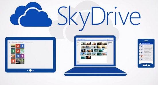 servicio en la nube de skydrive